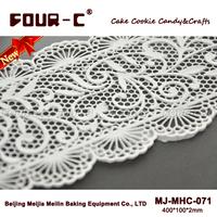 3D silicone cake lace mat,border mould,silicone cake fondant mould