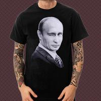 HOT 2015 Spring Summer Fashion Basic Underwear Tees Men Women Streetwear Putin Print T Shirts Hip Hop Screen Printing T-Shirts