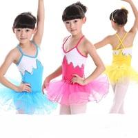 Strap Ballet Dress for Girls Swan Dance Performance Ballet Costume Tutu Children Women Skate Party Gymnastics Leotard LD030