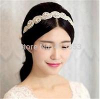 Authentic Korean Hair Act The Role Ofing High-Grade Diamond Hair Bride Take The Lead Beautiful Bride Hair Band A154