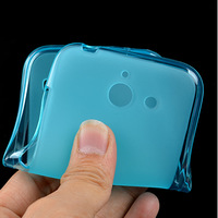 Pudding Clear Soft Case TPU Gel Skin Back Cover For Huawei Y550+Stylus Pen