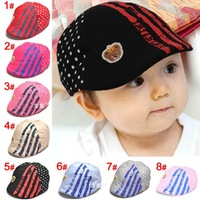 1pcs Boy Girl Unisex Newborn Baby Kid Baseball Dribble Hats Cap Accessory