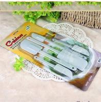 Free shipping 5 piece/set of cake of bread cream suit Cake Tool DIY baking tools necessary scraper  04016