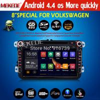 Android 4.4 autoradio for VW Polo Jetta Tiguan Golf Bora Passat B5 B6 5 6 car Capacitive Screen 3g WiFi radio BT Volkswagen