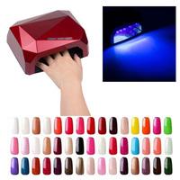 2015 Exiquite Universal 36W AC 110V 220V LED Nail Art Lamp Nail Dryer Nails Care Machine for UV Gel Nail Polish