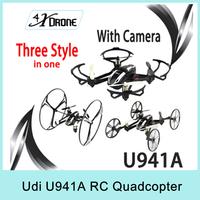 Udi U941A 4CH 6-Axis 2.4G RC Quadcopter Aircraft Deform Nano With Gravity Sensor Mini UFO 360 Eversion 3D FPV With 0.3MP Camera
