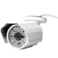 White CCTV Security Camera 1300TVL SONY CMOS Color Outdoor 48 Leds IR CUT 6mm