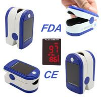 New CE&FDA LED Finger Pulse Oximeter JPD-500B Blood Oxygen Saturation SpO2 Portable Oximetro de dedo PR Health Care Monitor
