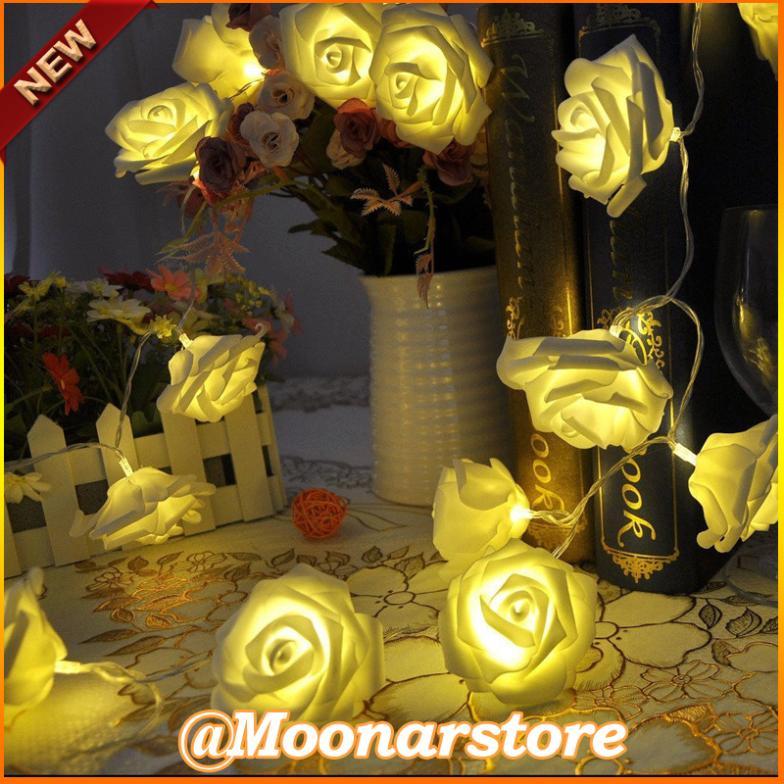 20LEDs Rose Flower Fairy String Lights Wedding Garden Party Christmas Decoration LED Light FYMHM700(China (Mainland))
