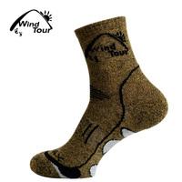 2Pairs Men's Coolmax Socks Men Outdoor Sock Hiking Quick-Drying sport socks Winter Thick Thermal socks for men women
