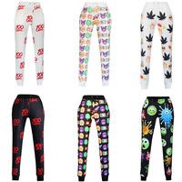New Emoji Joggers Pants White/Black for Men/Women Sweatpants Trousers Cartoon Outfit Casual Sport Clothes Plus Size S-XL