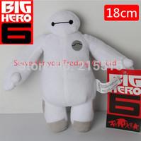 Hot Sale 2015  High Quality 18cm Big Hero 6 Baymax Plush Robot Doll Large Ultra Soft Baby Classic doll Toys Free Shipping