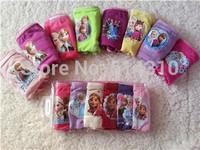 New 2015 Baby Girls Cotton Frozen Underwear Kids / Girl Under Briefs / Panties / 6pcs free shipping