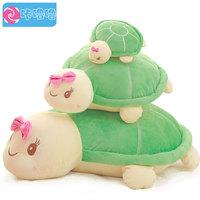 Pernycess 1pcs 60cm Large turtle pillow plush toy doll cute cartoon cushion