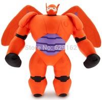 Wholesale 10Pcs 38CM Big Hero 6 Baymax Plush Dolls Robot Mech Send Their Children Gifts Plush Baby Kids Toys Free Shipping