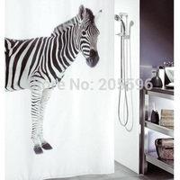 Pink Zen stones bathroom curtain shower curtain terylene bath curtain 180x180cm ,screen shower,curtain bath