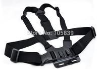 Black Harness Adjustable Chest Body Belt Strap Mount for Gopro HD Hero 1/2/3/3+/4 Camera SU Accessories