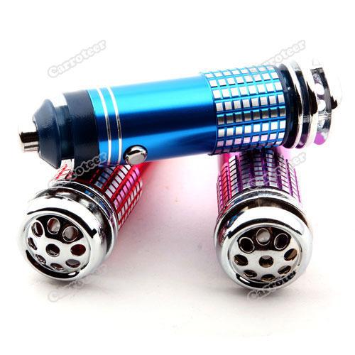 carroteer Best choice Mini Car Auto Fresh Air Purifier Oxygen Bar Ionizer Latest Style(China (Mainland))
