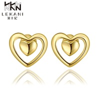 E969-AWholesale Nickle Free Antiallergic 18K Real Gold Plated Earrings For Women New Fashion Jewelry