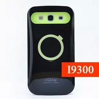 New Iglow Aika music hit color luminous ring-pull bracket shell soft shell case for Samsung9300/S3 Free shipping