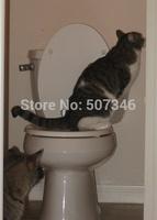 38CM*37CM*3CM Plastic Easy to Learn Cat Toilet Training Kit for pet Training and Behavior Aids