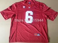 College Alabama Crimson Tide #6 Ha Ha Clinton-Dix red ncaa football jerseys mix order free shipping