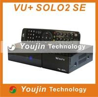 1PC/LOT vu solo 2 SE Original Software twin tuner Satellite Receiver Linux 1300 MHz CPU Mini Vu solo2 SE