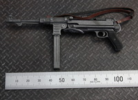 Brand New 1/6 Scale Action Figure Accessories MP40 Submachine Gun Model For 12'' Action Figure Model Toy -Free Shipping