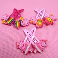 girl peppa pig headwear for baby girls children hair accessories kids accessories hair children headwear Z005