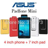 Original ASUS PadFone mini 4 inch Android smart phone+7 inch Tablet pc,Intel Atom Intel Atom Z2560 Dual Core/sim mobile pad