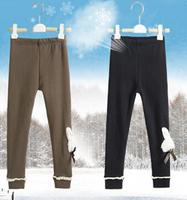 France kk rabbit children's  leggings wholesale  girls thick leggings  SL1332-A,SL1334