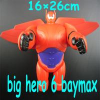 Big Hero 6 baymax Action Figure 2015 New Cartoon Movie baymax Action & Toy Figures Big Hero 6 Movie Toys