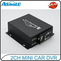 2ch Car DVR, 2ch Mobile Taxi DVR, 2ch Mobible DVR, 2 channel DVR from asmile
