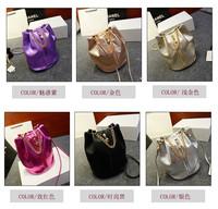 Luxury Fashion Womens Ladies Faux Leather Shoulder Bags Bucket Handbags Tote Purses Drop Free Shipping