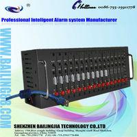 16 PORT sms MODEM POOL Support USSD mobile recharge GSM/GPRS Cinterion TC35I 16 sim card modem
