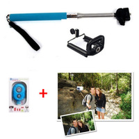 New Selfie Monopod Extendable Handheld Holder + Bluetooth Remote Control  Self-timer Shutter For Phone