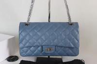 Luxury Bag:Diamond Lattic Genuine Leather Women Handbag Fashion Shoulder Bag Totes