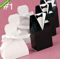 100pcs/lot  U Chose Wedding Favour Candy Boxes Gift Boxes 5 Style