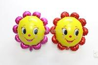 10pcs/lot 63*60cm sunflower balloons birthday wedding party decoration ballon shaped christmas helium ballons