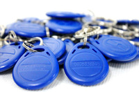 Free Shipping 5pcs RFID Key Fobs 13.56MHz Proximity ABS IC Tags NFC 1k Tag Access Controller With Chinese Fudan S50 1K Chip