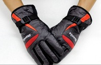 FreeShip by DHL/Fedex 60pairs 2014 Winter Waterproof Snowboard Gloves For Men Warm Skiing Gloves Snowmobile Motorcycle gloves