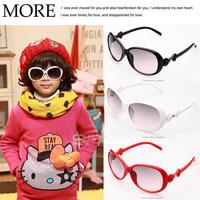 Fashion diamond butterfly sunglasses kids goggles 24pcs/lot free shipping