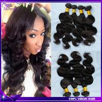 Biggest sale Malaysian Virgin Hair Body Wave 4pcs Unprocessed Virgin Malaysian Human Hair Extensions Luvin hair Shipping free