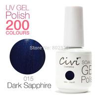 Civi Nail Gel Soak off UV nail gel 30 days Long Lasting 200 Gorgeous Colors The Best Gel Polish Choose 10 Colors