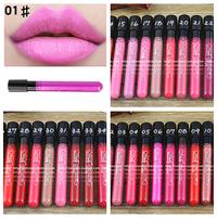 Trendy 38 colors optional Matte Lip Sticks Velvet Hot Color Lip Pen Sticks Lipstick Cheap Make Up Lip Gloss Free Shipping