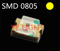 0805 Automatic flash smd led 585-595nm Yellow blinking led diode 1.5Hz flashing led
