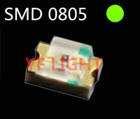 1.5Hz Single blinking 0805 SMD CHIP DIODE 568-575nm Green smd led(Automatic flash smd led)
