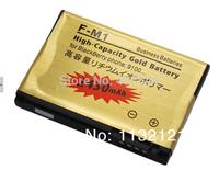 DHL  shipping 100pcs/Iot  Gold 2430mAh Battery For Blackberry F-M1/FM1 9100/9105 Pearl 3G/9670