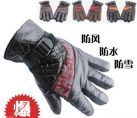 FreeShip by DHL/Fedex 180pairs SNOWMOBILE SKI Gloves Motorcycle Riding Sports Waterproof Gloves Sking Gloves Free Shipping