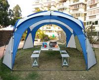 New style high quality super size 365*365*220cm ultralight sun shelter beach tent
